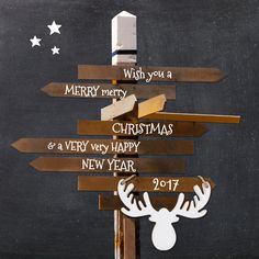 Krijtbord Hippe Kerstkaart 2017, verkrijgbaar bij #kaartje2go voor €1,89 Happy New Year 2015, New Year 2017, Food Truck Festival, Merry Christmas, Christmas Ideas, Eland, Prints, Zombies, Survival