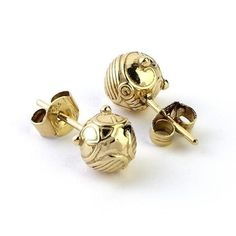 Official Harry Potter Golden Snitch Stud Earrings