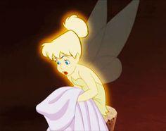 Foto: Se nos ha enfadado la bella Campanilla : No ha encontrado vestido para la…