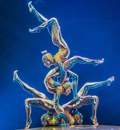 From back breaking flexibility to insane balance these 25 Impossibly Acrobatic Stunts and the amazing acrobats that do them are the real deal! Fish Costume, Circus Show, Contortionist, Great Inventions, Three Friends, Aesthetic Backgrounds, Funny Cartoons, Surreal Art, Stunts