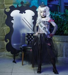 Goth Prom Queen Child Costume from CostumeExpress.com