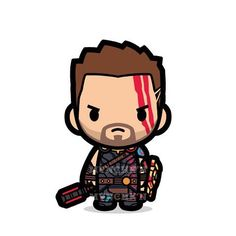 Are you going to catch Thor this weekend? #thor #thorragnarok #marvel #chibi #cute - mvnchk