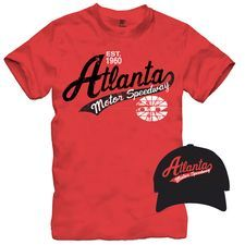 25 bucks gets you this Atlanta Motor Speedway hat and t-shirt combo!
