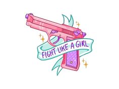 fight like a girl sticker set Tattoo Girls, Girl Tattoos, Tatouage Goth, Mon Combat, Stickers Kawaii, Tumblr Png, Girly, Tumblr Stickers, Girls Be Like