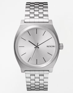 Image 1 of Nixon Time Teller Silver Stainless Steel Watch