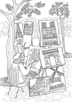 Coloring Europe: Vive la France: Il-Sun Lee: 9781626923911: AmazonSmile: Books