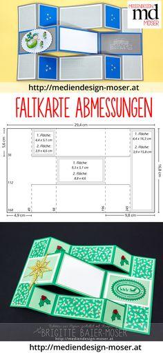 Bastelanleitung für Faltkarte