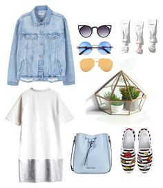 """""""Untitled #7"""" by jkopossova-1 on Polyvore featuring BP., MANGO, Linda Farrow and Armani Jeans"""