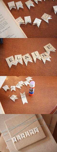 как упаковать подарок своими руками пример с флажками