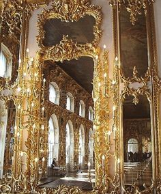 historyofromanovs: The Ballroom of Catherine Palace Tsarskoe. historyofromanovs: The Ballroom of Catherine Palace Tsarskoe Selo Russia. Baroque Architecture, Beautiful Architecture, Beautiful Buildings, Architecture Design, Beautiful Places, Russian Architecture, Classic Architecture, Hello Beautiful, Rococo