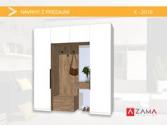 Nábytok do chodby na mieru so zrkadlom / Halway furniture with mirror Bathroom Medicine Cabinet, Furniture, Mirror, Home Decor, Homemade Home Decor, Mirrors, Home Furnishings, Decoration Home, Arredamento