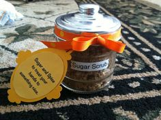 Brown sugar scrub for secret sister gift