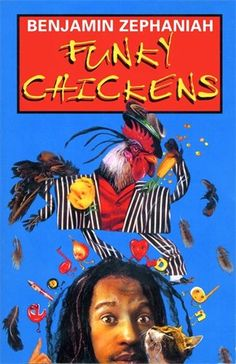 Funky Chickens (Puffin Poetry) by Benjamin Zephaniah http://www.amazon.co.uk/dp/0140379452/ref=cm_sw_r_pi_dp_.bigub1746W3F