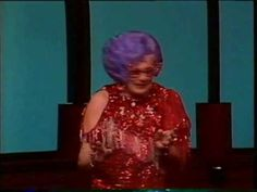 Farewell, Dame Edna, All things must come to an end! I saw once, one of her shows in San Fransisco, it was hilarious and unforgettable.