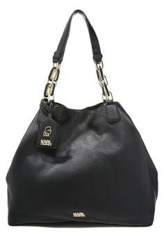 Bestill KARL LAGERFELD Shopping bag - black for kr 3495,00 (14.11.16) med gratis frakt på Zalando.no