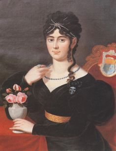 Seraphina Franziska zu Leiningen, born Gräfin Porcio by ? (Museum Grünstadt - Grünstadt, Rheinland-Pfalz Germany)   Grand Ladies   gogm
