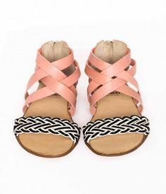 Gallucci Treccia toddler sandals