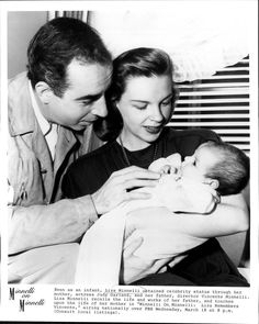 Judy Garland, Vincent Minnelli and daughter Liza