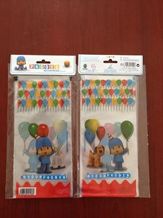 Pocoyo Candy Bags Happy Birthday Party Favor Bags 10 Count Pocoyo Party Supplies | eBay
