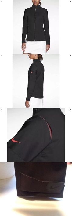 Coats and Jackets 181145: $280 Womens Nike Golf Storm-Fit Hyper Adapt Jacket Coat Repels 585850 010 Xs BUY IT NOW ONLY: $99.0