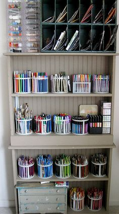 #papercrafting and #crafting supply #storage and #organization: storage for…