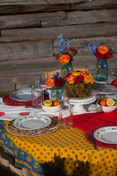 Fun and whimsical tablescape from our Legacy Farms Style Shoot with Kevin Wimpy Photography