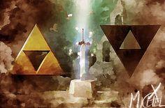 The Legend Of Zelda: ''A Link Between Worlds'' by MichelRT