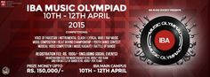 IBA Music Olympiad 2015 [10th April] | Events In Karachi | Latest Event Updates| Articles | About Karachi