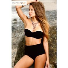 Orchid Label Swimwear 'Pin Up Black High Waisted' Bikini by Orchid Label 2013 | The Orchid Boutique