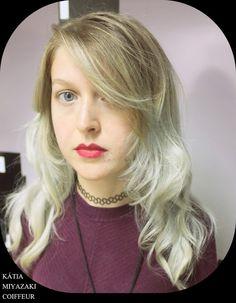 Katia Miyazaki Coiffeur - Salão de Beleza em Floripa: corte repicado - descoloração - granny hair - loir...
