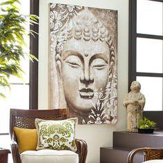 Buddha Wall Art - Ivory