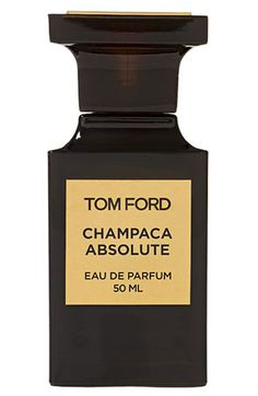 Tom Ford, Champaca Absolute.  I can't begin to describe the dark sensuality and complexity of this fragrance... I just love it!!