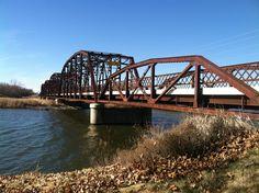 OVERHOLSER BRIDGE ON OLD ROUTE 66 now part of North Overholser Dr. - (Oklahoma City, OK.) ©2013 John Ruppe