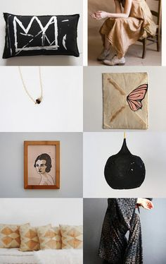 black and nude mood by mirta on Etsy--Pinned with TreasuryPin.com