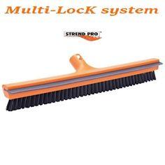 Racleta geam SB66 Multi-Lock system,420 mm,cu perie,lamela cauciuc,Strund Pro - stulte.ro Lock System, Garden Tools, Outdoor Power Equipment