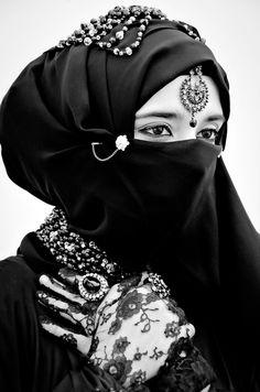 Niqab (Arabian) - cultural women are always so beautiful.