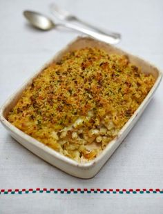 Macarrones con queso al horno (receta vegana)