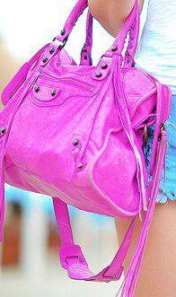 pink Balenciaga <3