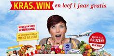Kras, Win En Leef 1 Jaar Gratis - Gratis Prijzen Winnen