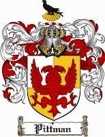 Pittman Coat of Arms / Pittman Family Crest