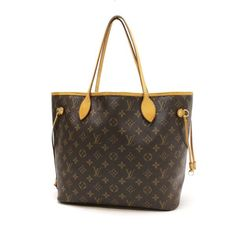 Louis Vuitton  Neverfull MM Monogram Shoulder bags Brown Canvas M40156
