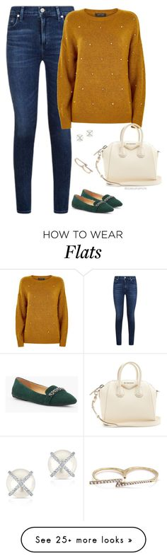"""""""Mustard Yellow"""" by stylebyshannonk on Polyvore featuring Talbots, Givenchy, Anne Sisteron and Khai Khai"""