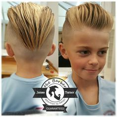 Men's Hair, Haircuts, Fade Haircuts, short, medium, long, buzzed, side part, long top, short sides, hair style, hairstyle, haircut, hair color, slick back, men's hair trends, disconnected, undercut, pompadour, quaff, shaved, hard part, high and tight, Mohawk, trends, nape shaved, hair art, comb over, faux hawk, high fade, retro, vintage, skull fade, spiky, slick, crew cut, zero fade, pomp, ivy league, bald fade, razor, spike, barber, bowl cut, 2020, hair trend 2019, men, women, girl, boy… Pompadour Hairstyle, Undercut Pompadour, Style Hairstyle, Undercut Hairstyles, Boy Haircuts Short, Baby Boy Hairstyles, Cool Hairstyles For Men, Men's Hair, Hair Art