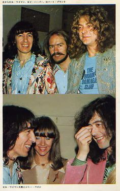 Robert Plant (Led Zeppelin)-Bill Wyman (Stones)-Jimmy Page (L.Zeppelin)-Roy Harper, and...(?)