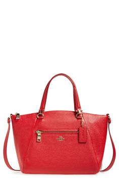 COACH 'Prairie' Leather Satchel available at #Nordstrom