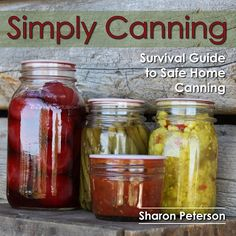 Are you overwhelmed at all the safety information when learning about safe home canning?