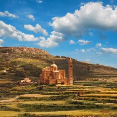 De prachtige Ta' Pinu kerk in Gharb, #Gozo eiland.