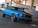 1970 Ford Mustang Mach 1.  Muscle cars are a classic.
