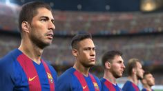 ►► Remember to select or for HD◄◄ Pro Evolution Soccer 2017 GamesCom 2016 trailer Platforms: Playstation Xbox One, & PC Genre: . Football Video Games, Football Troll, Soccer Games, Football Jokes, Real Madrid Manchester United, Pro Evolution Soccer 2017, Messi And Neymar, Crash Team Racing, Fifa 17