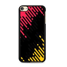 Cartoon Color Stripe For Ipod Touch 6 Case